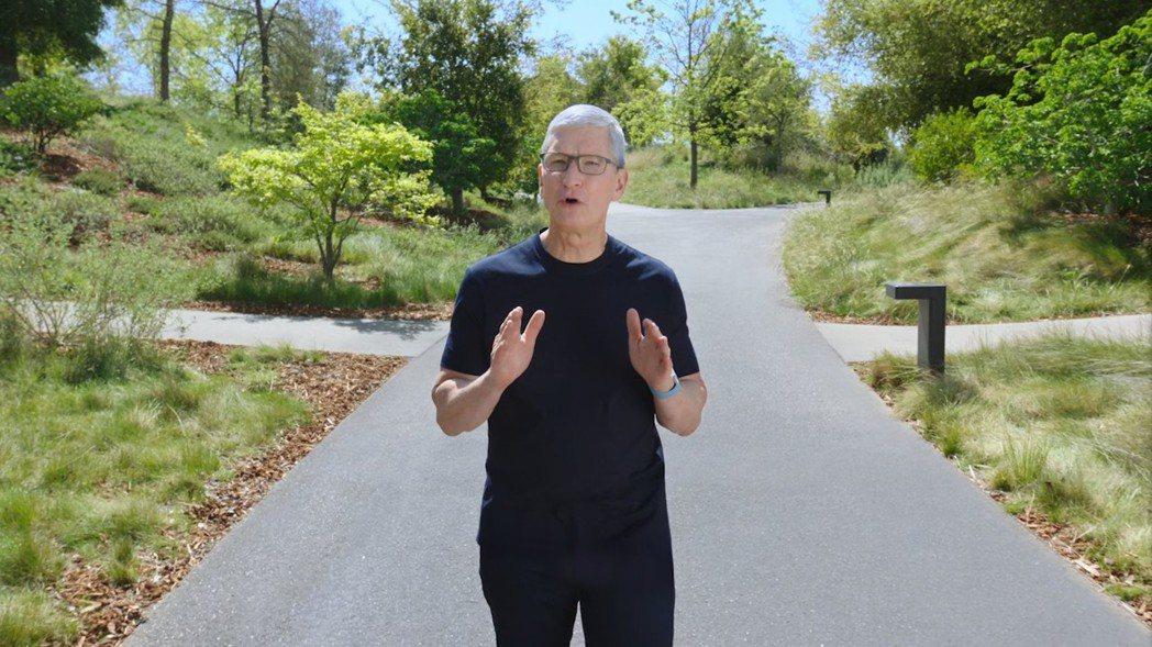 蘋果執行長庫克。圖/網路照片