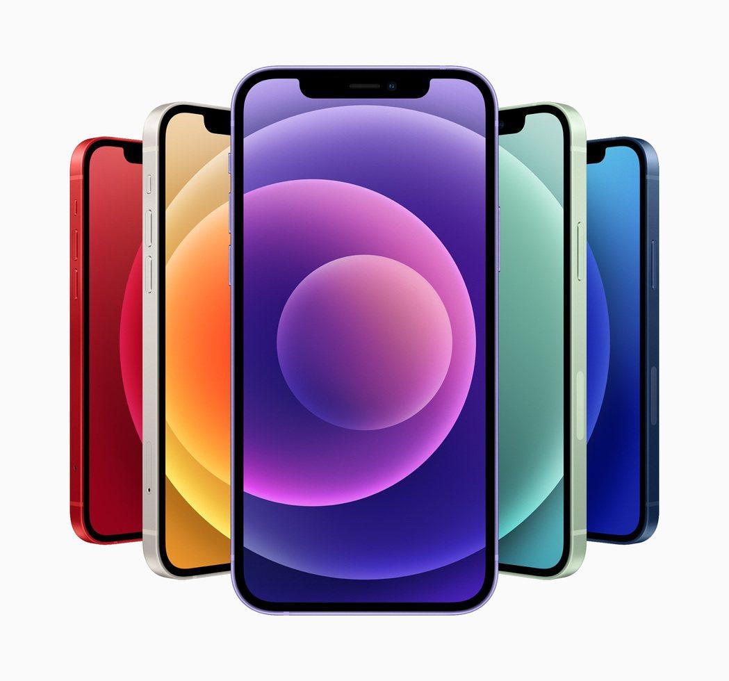 全新的紫色推出後,iPhone 12和iPhone 12 mini現在共有6款繽...