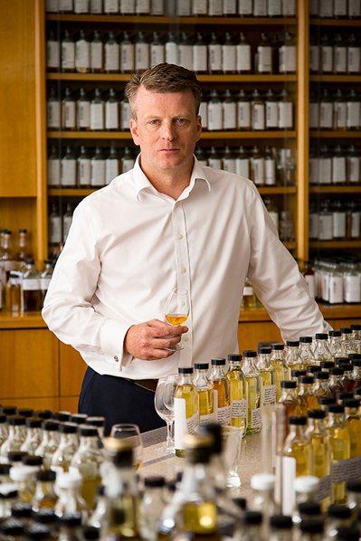 格蘭菲迪首席調酒師布萊恩・金斯曼。圖/格蘭菲迪提供。