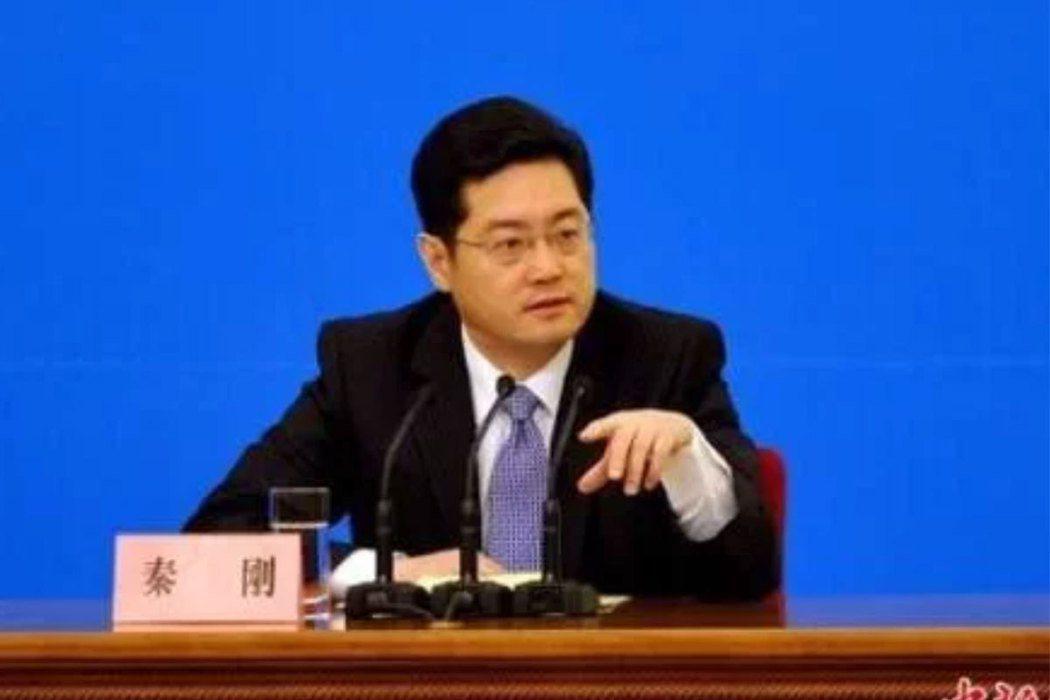 中國外交部副部長秦剛。(中新社)