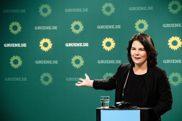 綠黨19日宣布提名黨魁貝爾伯克為總理候選人,創下德國自1949年以來最年輕的總理...