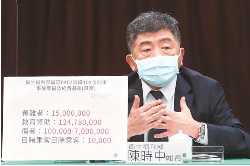 中央流行疫情指揮中心將於今天下午2時,由指揮官陳時中說明疫情及防疫作為等事宜。本報資料照片