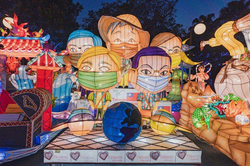 來自全台花燈本周六將在竹市孔廟廣場展出。圖/新竹市政府提供