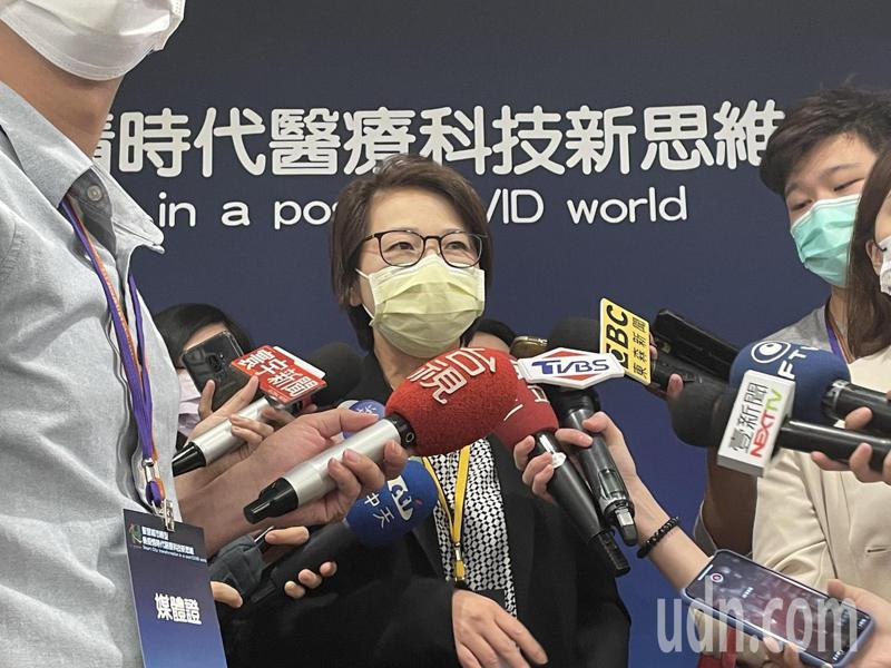 針對不合法旅館違法招攬,台北市副市長黃珊珊表示將會重罰。記者胡瑞玲/攝影
