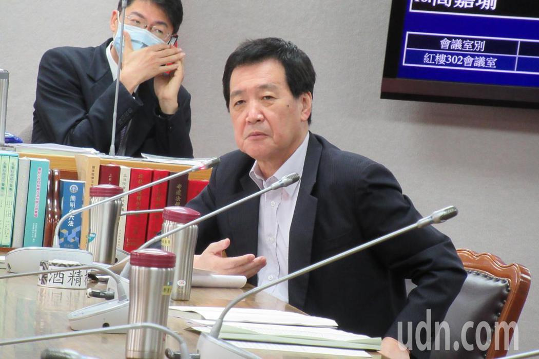 國民黨立委費鴻泰。記者王宏舜/攝影