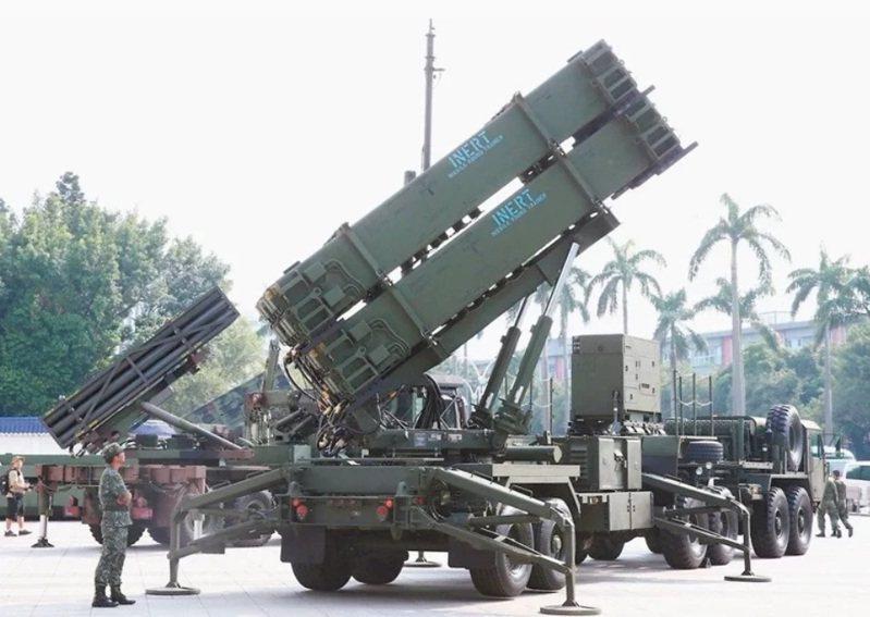 愛國者三型飛彈發射車。圖/本報資料照