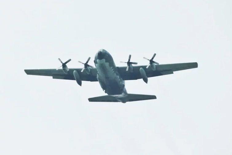 空軍C-130H運輸機。圖/本報資料照