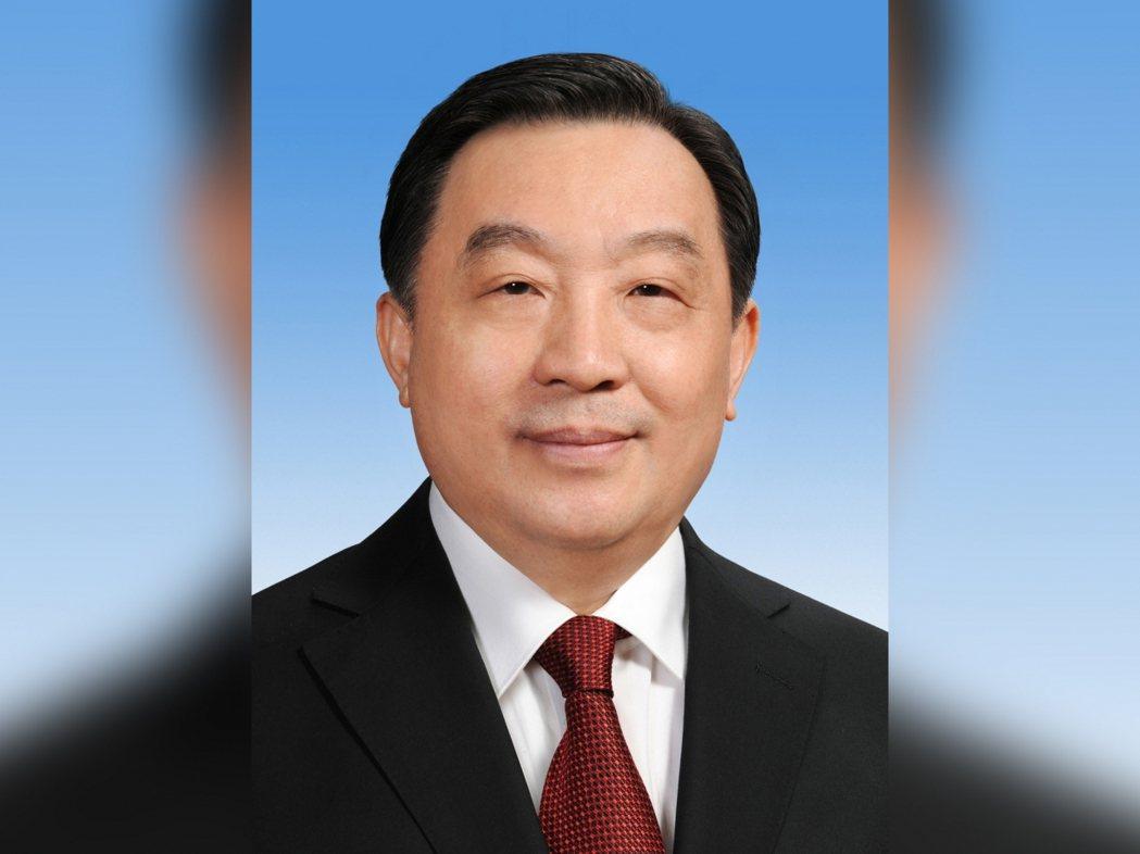 中共中央政治局委員、大陸全國人大副委員長王晨。香港電台