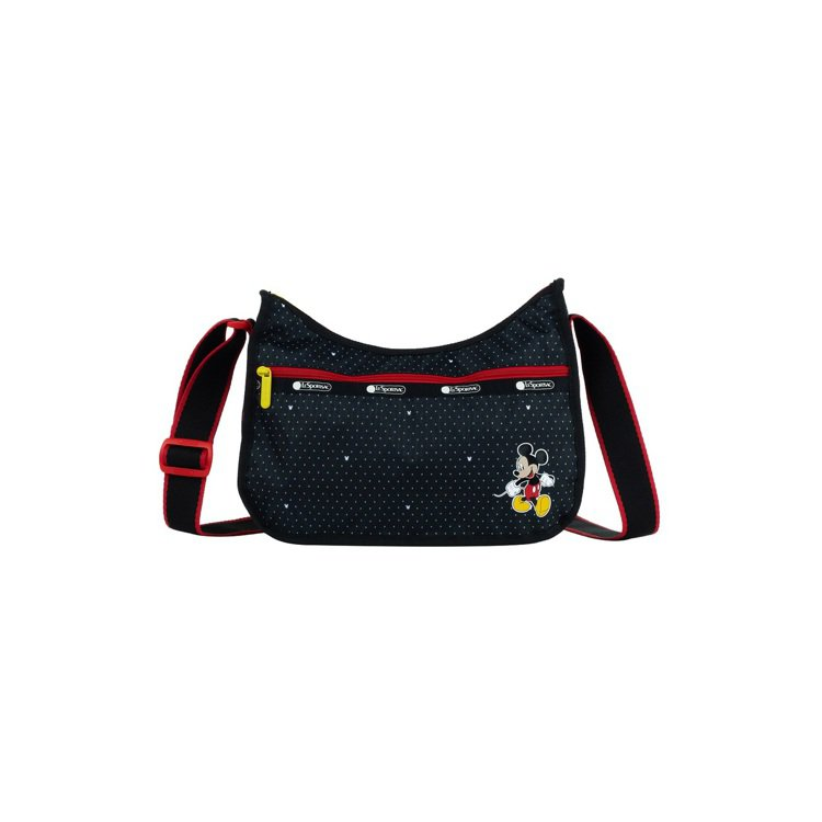 米奇點點經典斜背包,4,850元。圖/LeSportsac提供