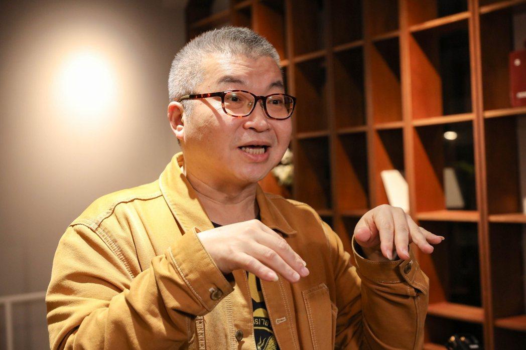 美食家徐天麟,最愛蕭維政做的櫻花鱈魚鬆。記者/李政龍攝影