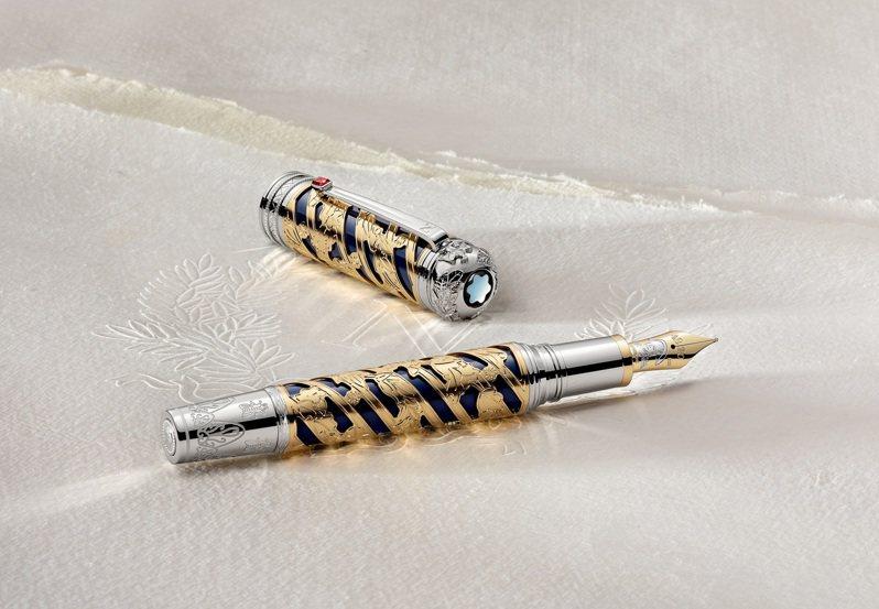 萬寶龍,藝術贊助系列向拿破崙·波拿巴致敬限量款888,29萬2,700元。圖 / 萬寶龍提供。