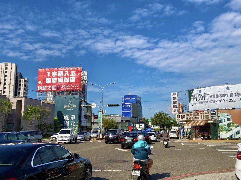 台中海線地區短短5年移轉棟數大增逾80%,第1季交易量達914棟。 記者宋健生/攝影