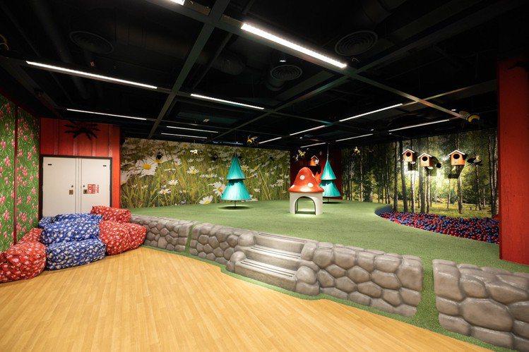 IKEA內湖店提供給小朋友遊玩的空間。記者沈昱嘉/攝影