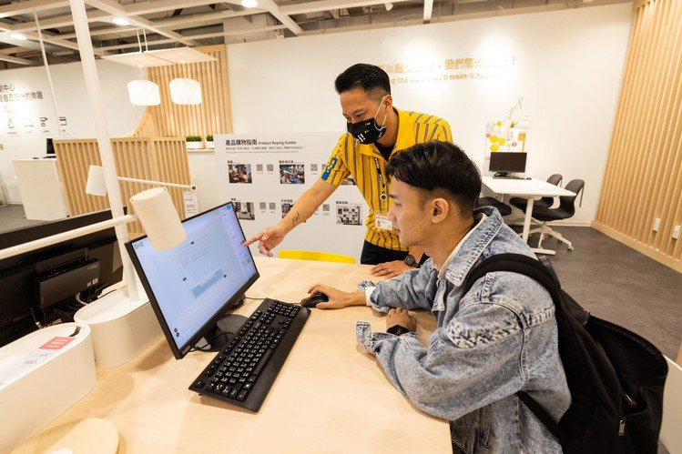 IKEA內湖店提供多元的規畫服務。記者沈昱嘉/攝影