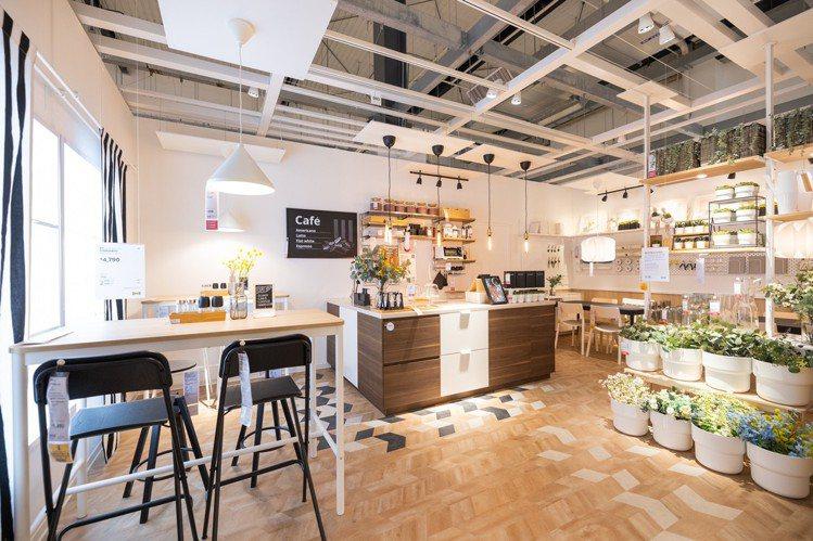 IKEA內湖店也提供想創業者,內部裝潢的靈感。記者沈昱嘉/攝影