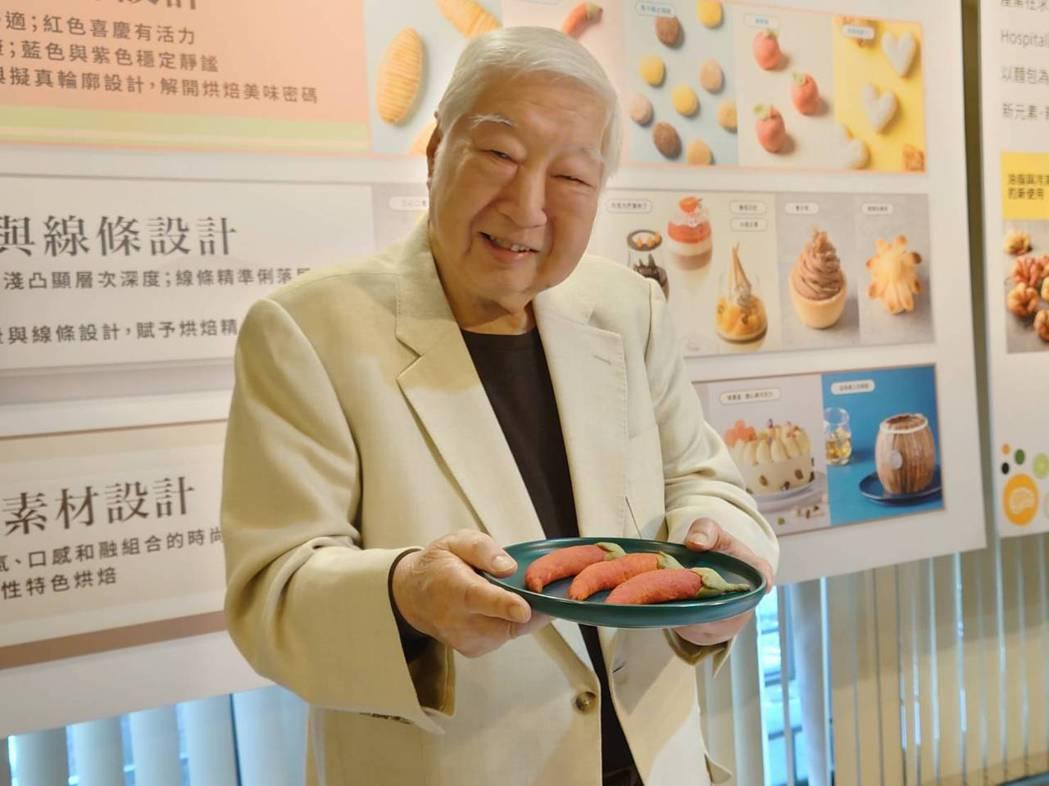 南僑集團會長陳飛龍認為烘焙產業會是未來一個產業發展新趨勢。黃淑惠攝