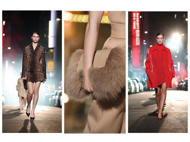 MICHAEL KORS以百老匯為主題,發表都會性感風格的秋冬新裝。圖/取自官方...