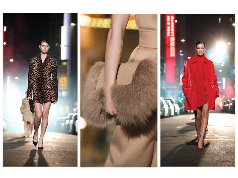 MICHAEL KORS以百老匯為主題,發表都會性感風格的秋冬新裝。圖/取自官方微博