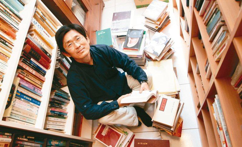 陳義芝(2012)。(圖/本報資料照片)