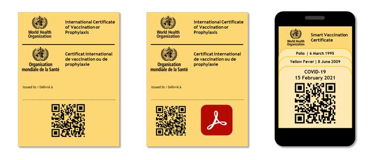 世界衛生組織「智慧疫苗認證工作小組」發展指引,未來研議疫苗護照方向可能是透過手機...