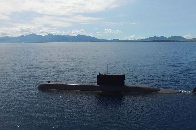 印尼海軍一艘名為KRI Nanggala的潛艦21日早上驚傳失聯,圖為印尼自製潛艇「阿魯格羅405」。法新社