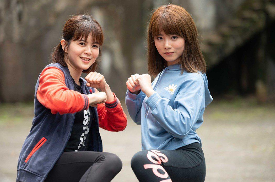 林柏妤(左)曾遭職場騷擾,王上菲見義勇為制止  圖/TVBS提供