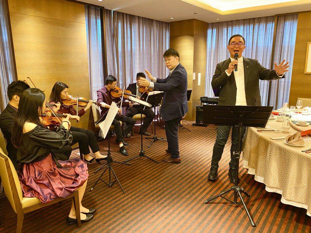 用音樂做公益,台灣梧桐弦樂團25日將舉辦「台灣梧桐春分音樂會」。記者宋健生/攝影