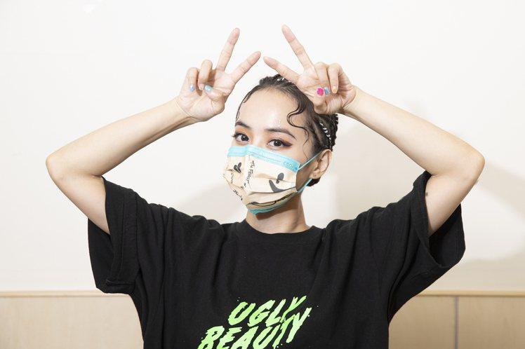 蔡依林貼心設計中衛聯名口罩送給粉絲與工作人員。圖/凌時差提供