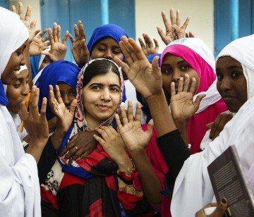 馬拉拉‧尤沙夫賽(Malala Yousafzai)為諾貝爾獎和平獎得主暨馬拉拉基金會共同創辦人。圖/SAS網站提供