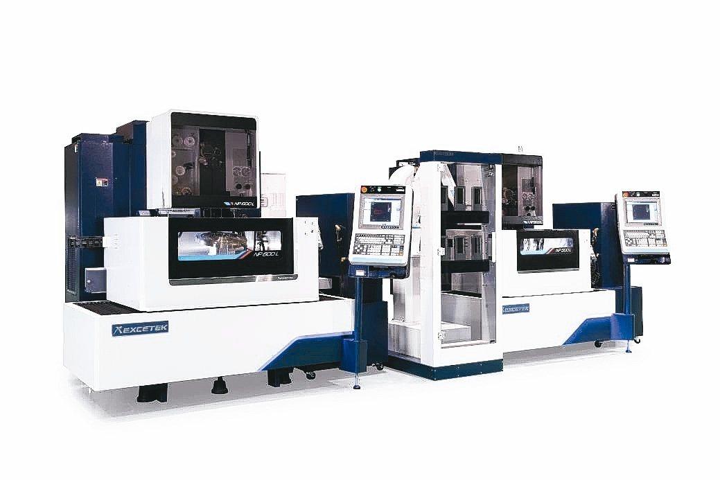 精呈科技整合NP500L線馬線切割機+NP600L線馬線切割機+工件倉儲系統產線...