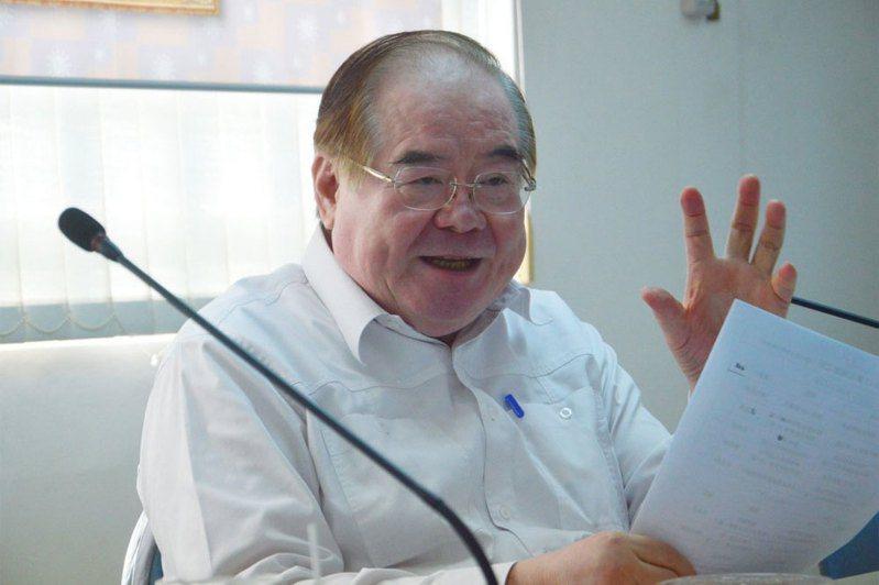 國民黨祕書長李乾龍。 本報資料照片