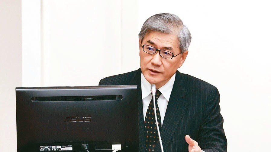 金管會主委黃天牧   記者林俊良/攝影