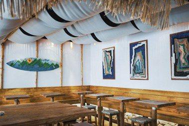 海洋廢料變裝置藝術!臺虎精釀Driftwood西門町全新改裝,攜手Taiwanderful設計海島風酒吧