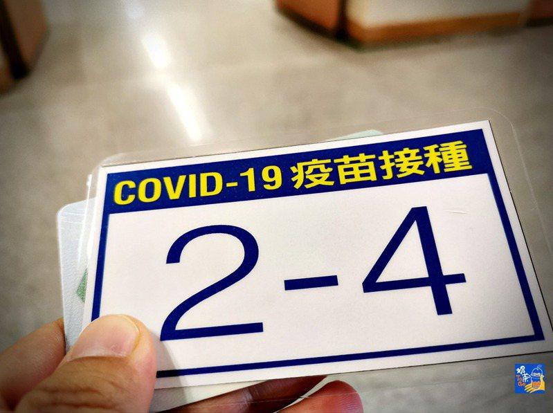 Covid-19疫苗接種。圖片授權/奶茶團長Difeny