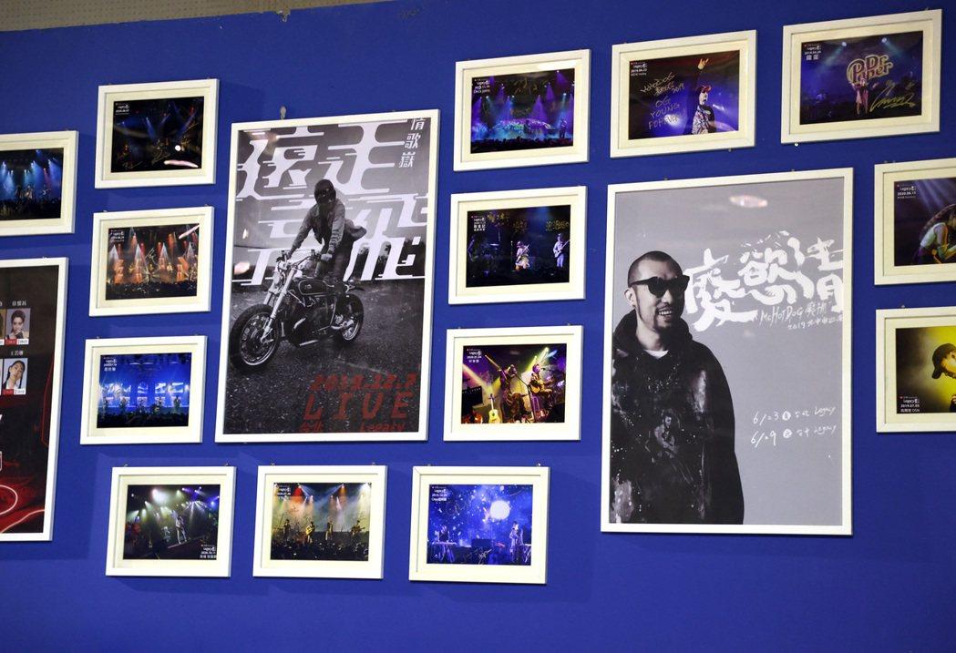 小樹在「見證大團誕生」系列中,12年來看遍樂團變化。記者林澔一/攝影