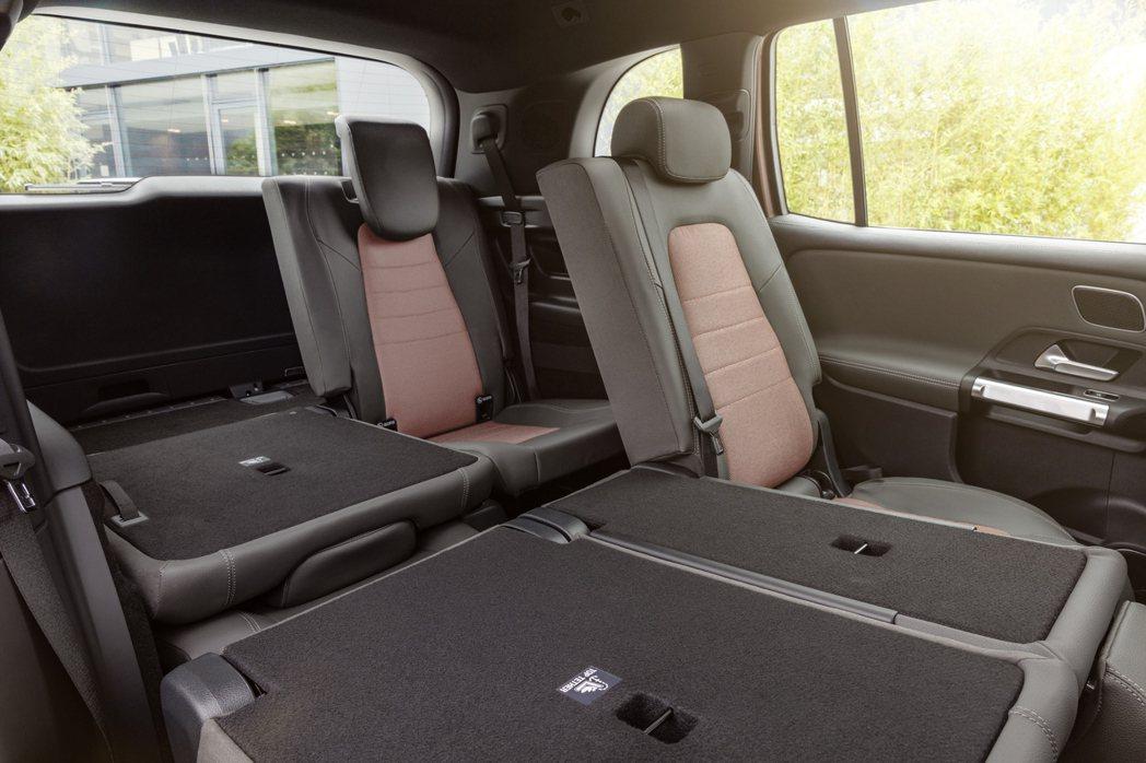 全新Mercedes-Benz EQB也有提供七人座車型的配置。 摘自Merce...