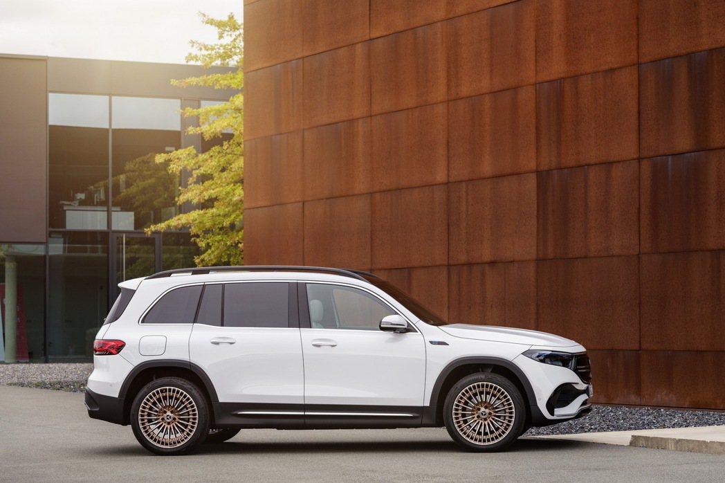 全新Mercedes-Benz EQB。 摘自Mercedes-Benz