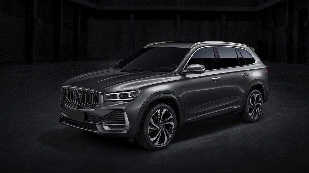 星越L在是由上海吉利設計公司所設計。 摘自吉利汽車