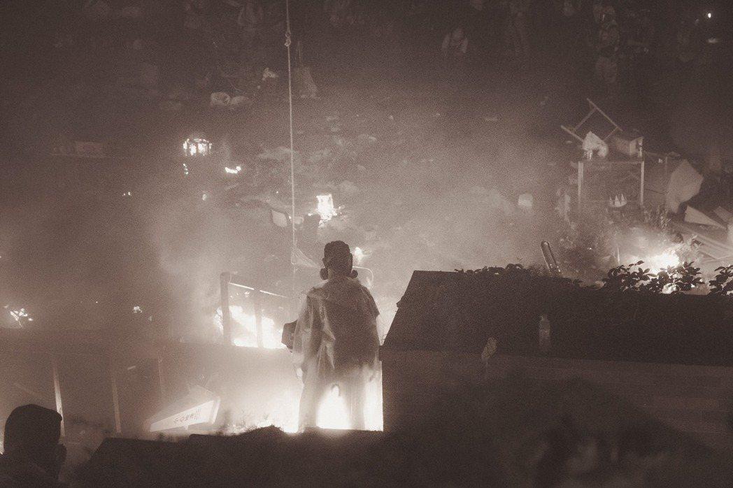 《理大圍城》劇照。 圖/台灣國際紀錄片影展