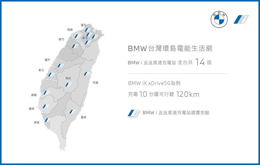 BMW總代理汎德依據台灣消費者的用車習慣與生活型態、攜手全台經銷商建置14處全新...