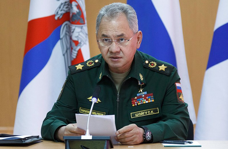 俄羅斯國防部長紹伊古。美聯社