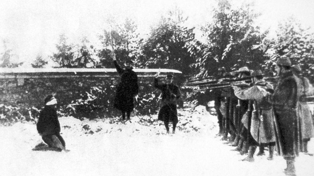 「躲避徵兵與逃兵的比例,可以視為政權受歡迎程度的公民投票。」圖為第一次世界大戰,...