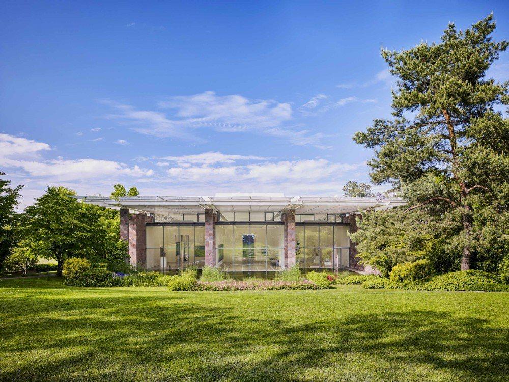 瑞士最具代表性的私人美術館-貝耶勒基金會。富邦藝術基金會/提供