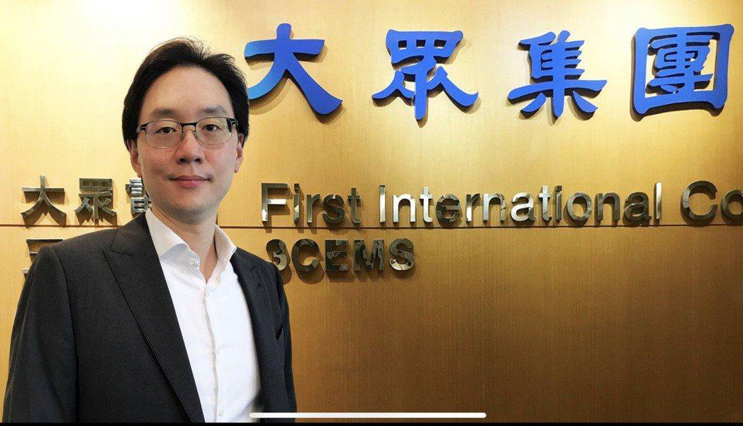大眾投控總經理暨台灣綠電應用協會TARGET 常務理事簡民智。業者/提供