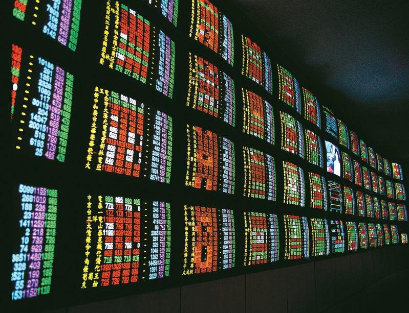 台股今終場下跌105.14點,收在17,096.97點,失守5日均線;成交量達6,448.89億元,再創下新天量。聯合報系資料照