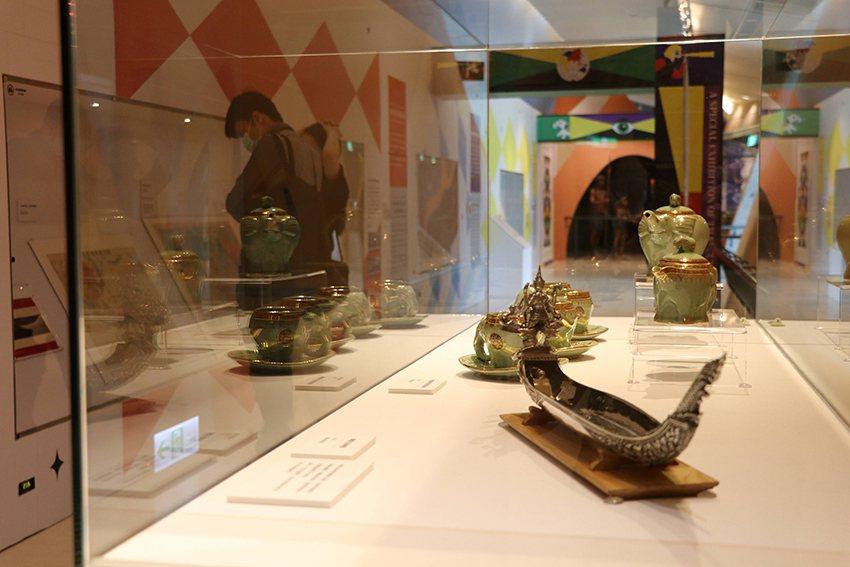 「多樣泰-泰國文化特展」展出多件平常難得看到的珍貴藏品。 十三行博物館/提供