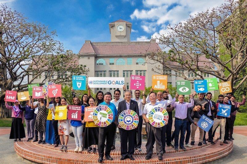 朝陽科大連續3年進榜世界大學影響力排名,推動永續發展成果卓越。 朝陽科大/提供