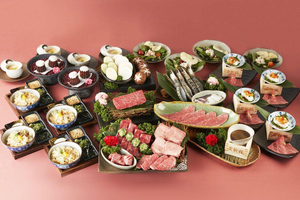 被譽為燒肉界LV的「老乾杯」,在典雅華麗的和風氛圍下,提供高等級日本、澳洲和牛與...