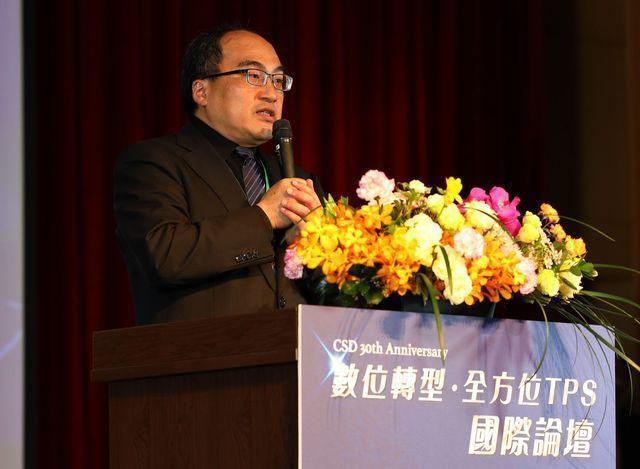 經濟部工業局局長呂正華致詞。 中衛/提供