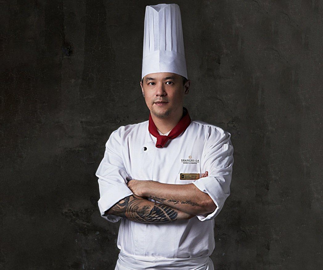 香格里拉台南遠東國際大飯店許煜新主廚。
